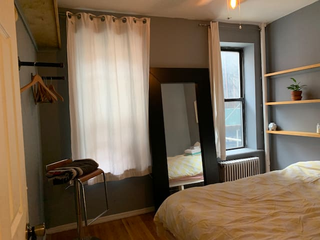 Sunny master bedroom Room in LowerEastSide/Nolita