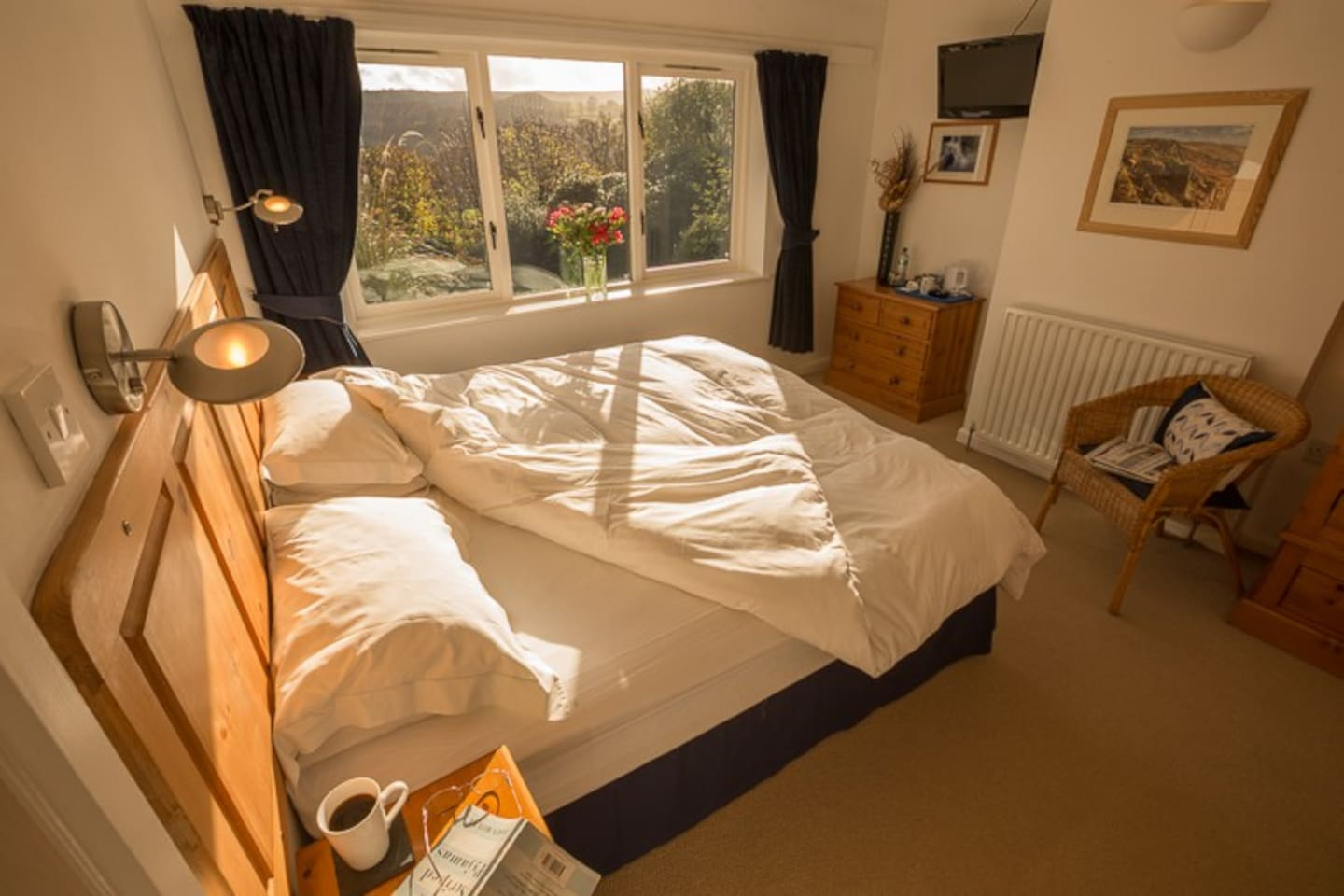 Fabulous views from some bedrooms