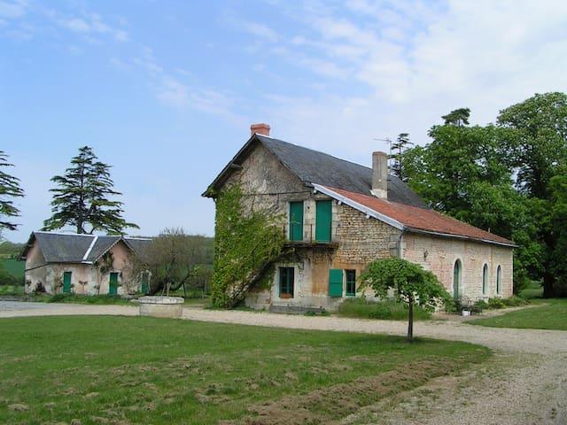A nice farm in Loire Valley - Ternay - Casa