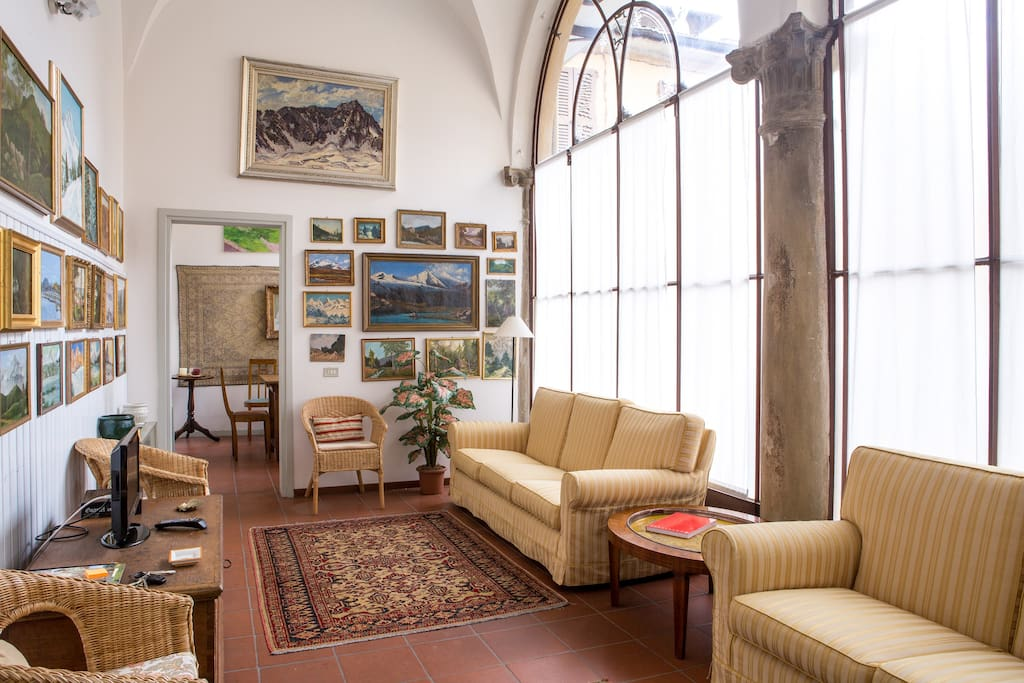 veranda salotto