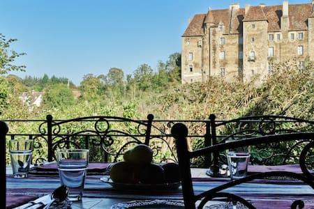 Château Vue Boussac - Jardin - Boussac