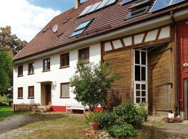 Altes Bauernhaus in Biberach/Riß