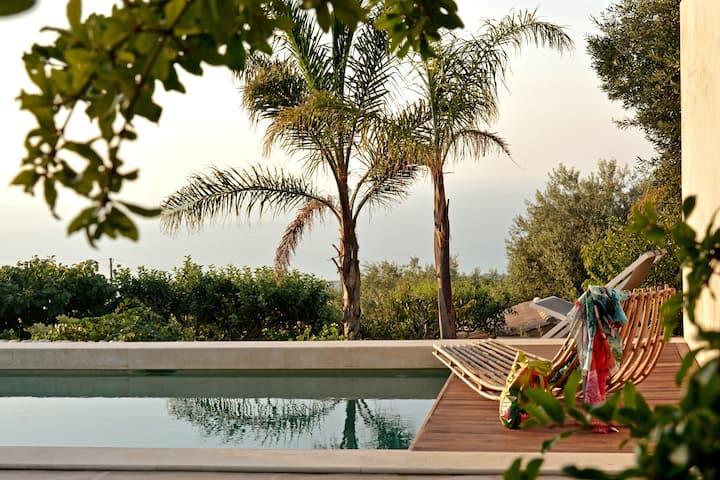 Villa con piscina vicino Cefalù (Sanificata)