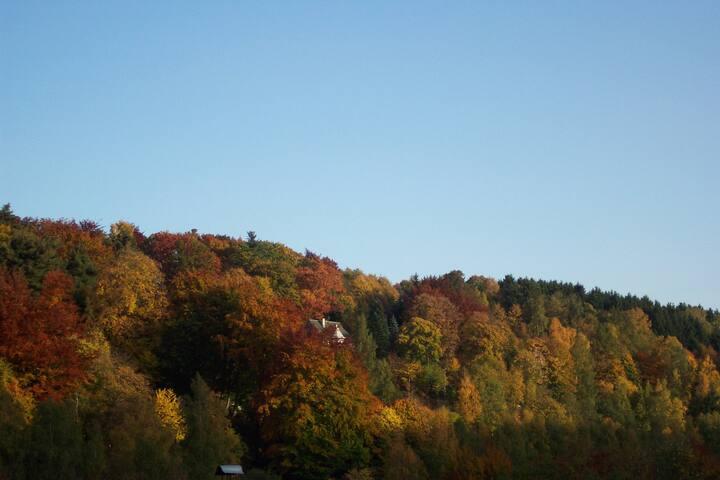 Ferienzimmer im Erzgebirge
