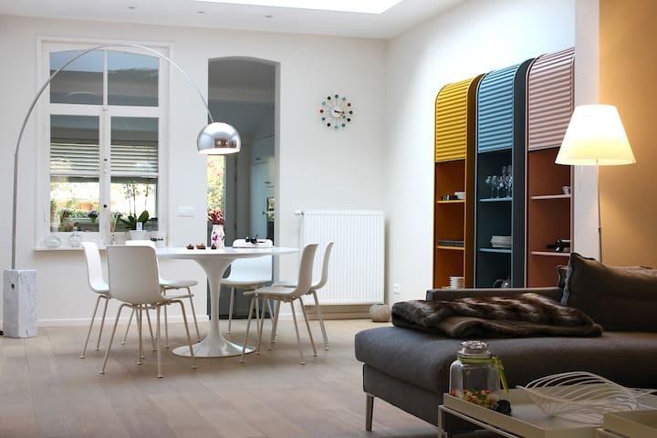 Design huisje in hartje Brugge.
