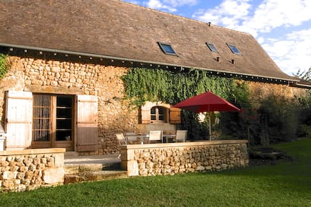 Stone farmhouse - childhood's dream - Saint-Martin-des-Combes