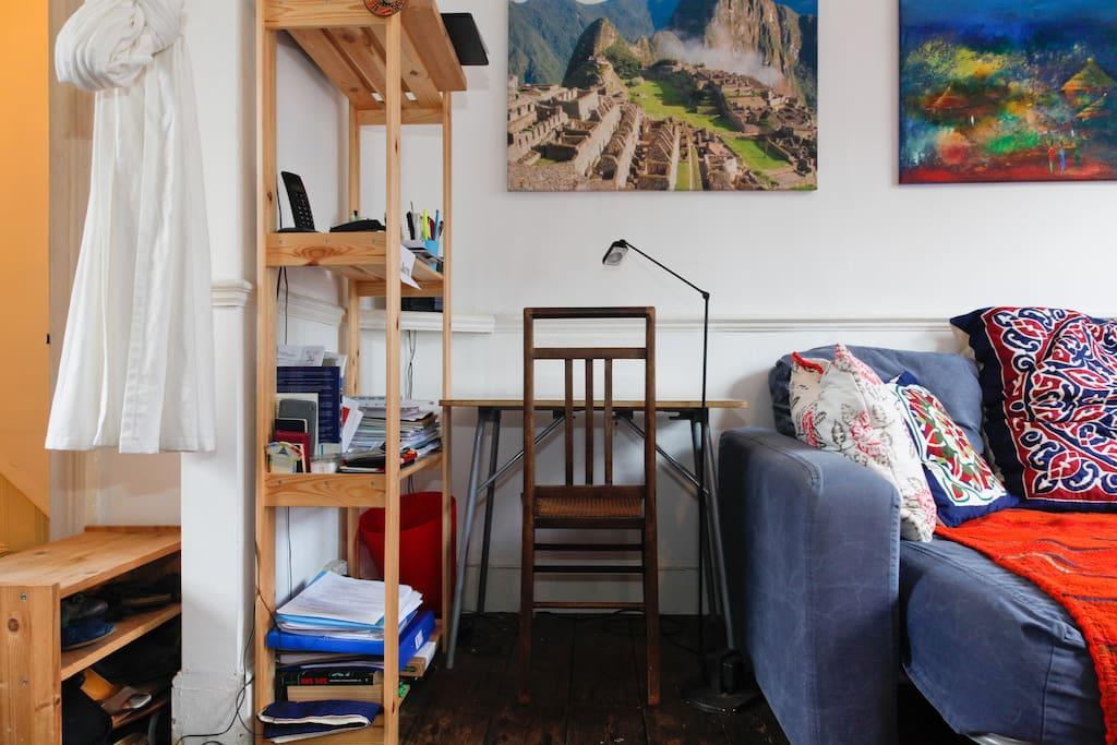 Living room - small desk