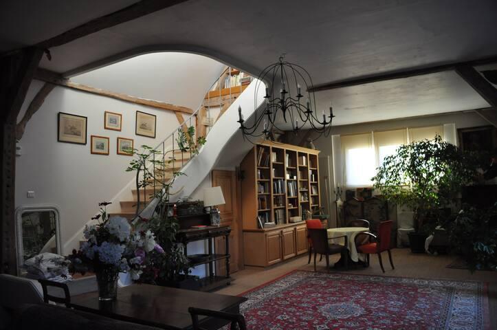 la charlotiere près de Tours,charme - Saint-Cyr-sur-Loire - Bed & Breakfast