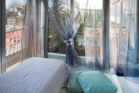 dormitorio simple - A Coruña - Bed & Breakfast