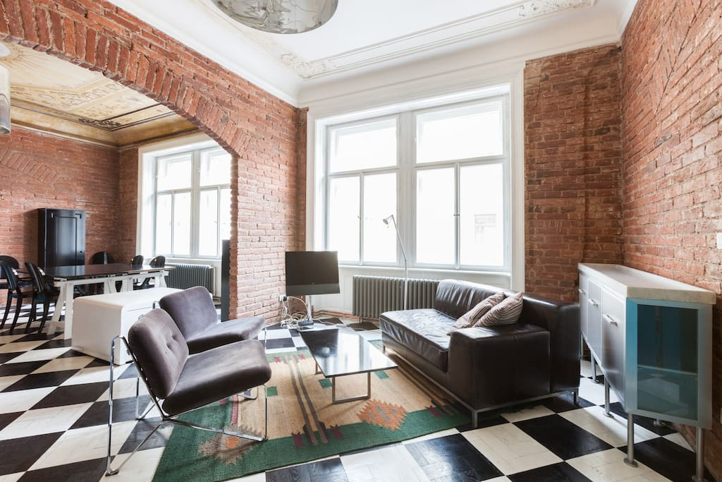 Top designer apartment old town apartments for rent in for Designer apartment prague