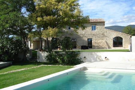 Large stone mas in Provence Luberon - Cucuron