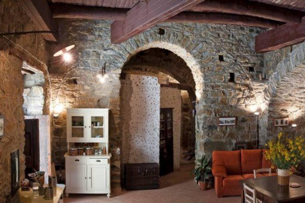 Living area per gli ospiti
