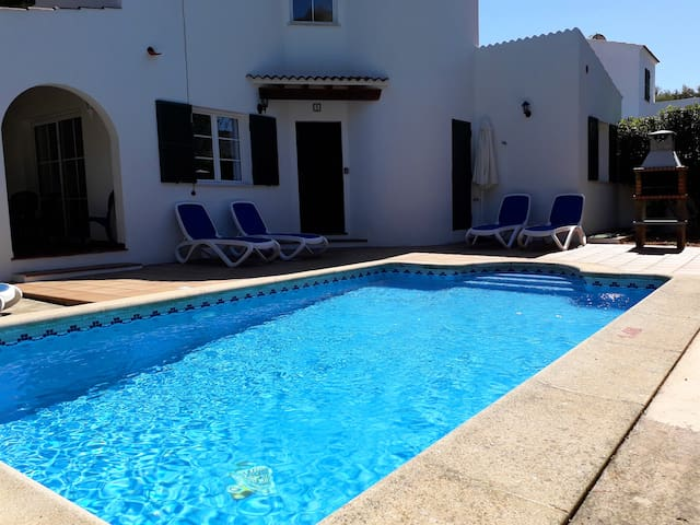Villa with private pool,  at 150 m of the beach