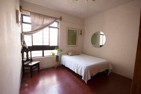 Pretty bedroom in Xochimilco Oaxaca :)