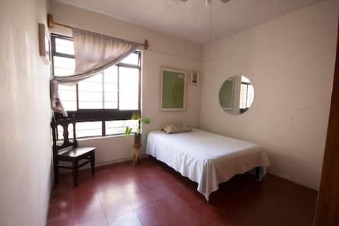 Linda habitación privada en Xochimilco, Oaxaca :)