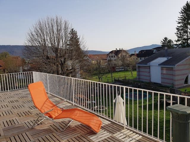 Détendez-vous sur le balcon