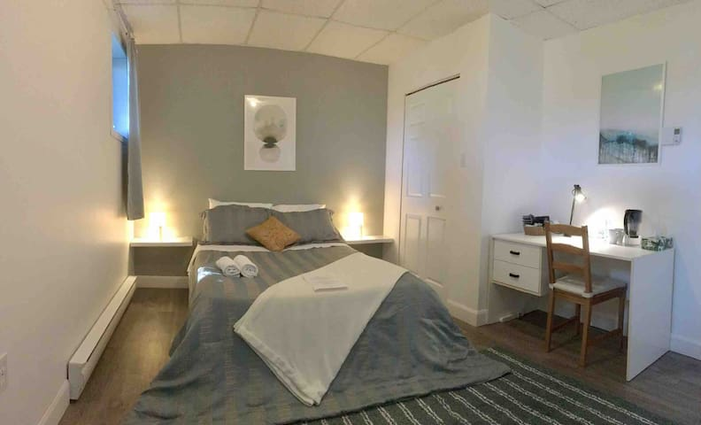 New calm bedroom close to UdeS for student
