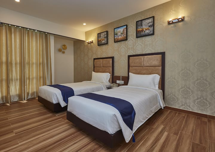 Experience the Passion of Hospitality(Twin Bed)