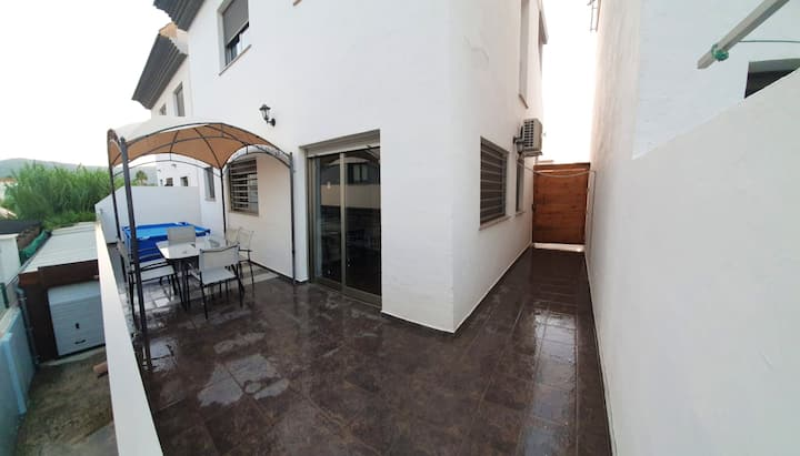 House with 3 bedrooms in Gandia, with wonderful mountain view, furnished terrace and WiFi - 800 m from the beach