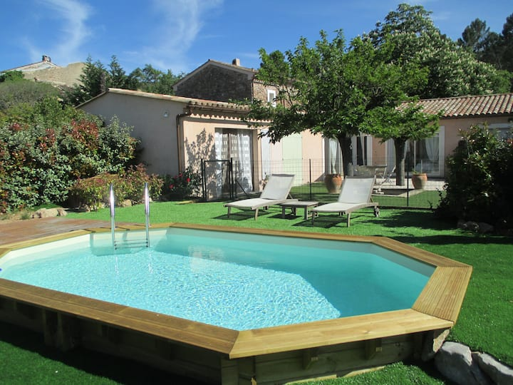 Maison indépendante avec sa piscine privée