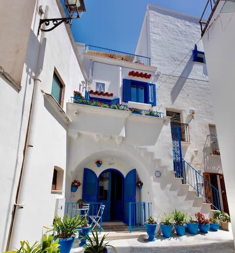 Janela Blue Terraced  Apartment