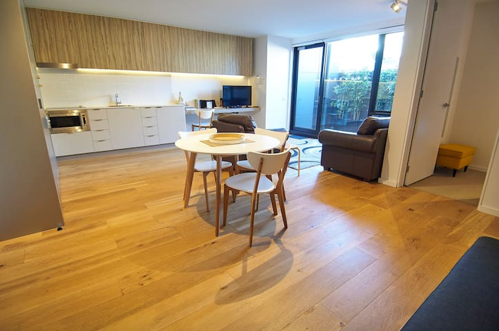 Spacious, comfy and bright.  Heart of St Kilda