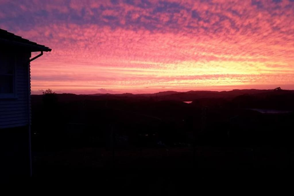 A magical Sunset on the Kaipara
