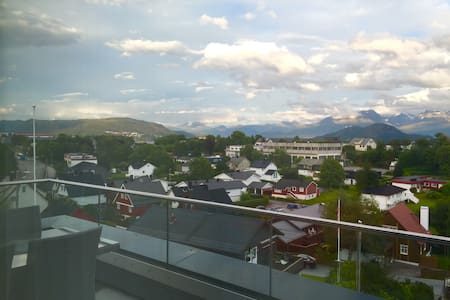 Luxury penthouse apartment - 奥勒松(Alesund) - 公寓