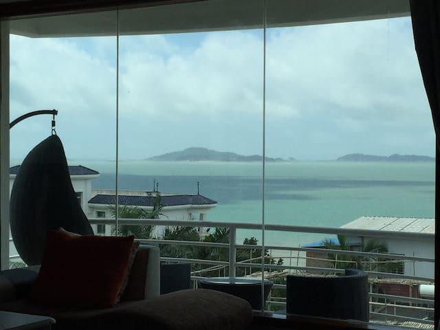 两款无敌海景房2选1 -带阳台浴缸的需补120元-- 珍藏美景和故事的临海院墅 - Xiamen