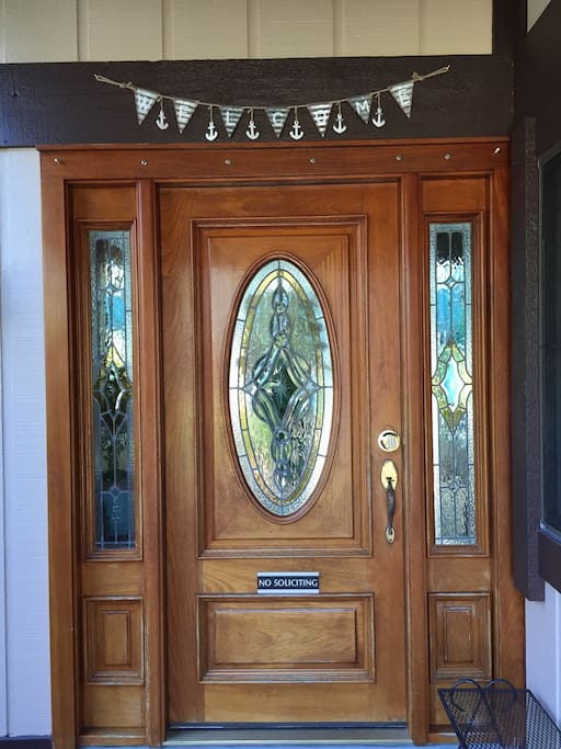 Front door. You know you're here!