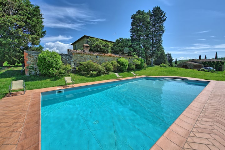 Villa Sodi - Holiday Country House with swimming pool in Chianti, Tuscany