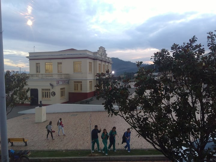 Apartment close to train station of Zipaquirá