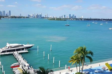 Amazing bayview studio south beach - Miami Beach