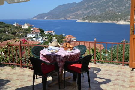 Large triplex villa (privacy) 8-10 person seaview - Kaş