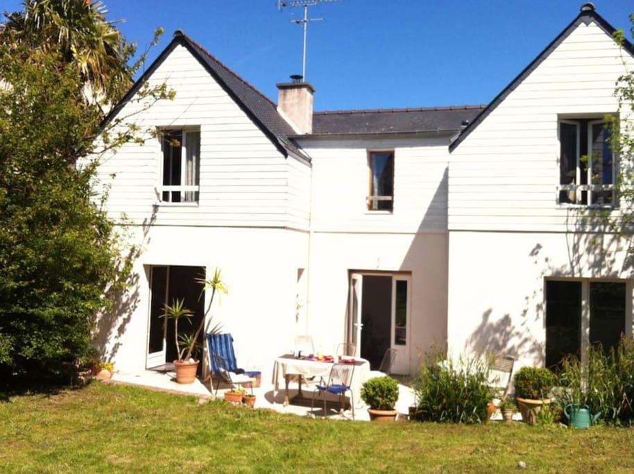 Maison de charme proche bord de mer houses for rent in saint malo bretagne - Maison de charme perche ...