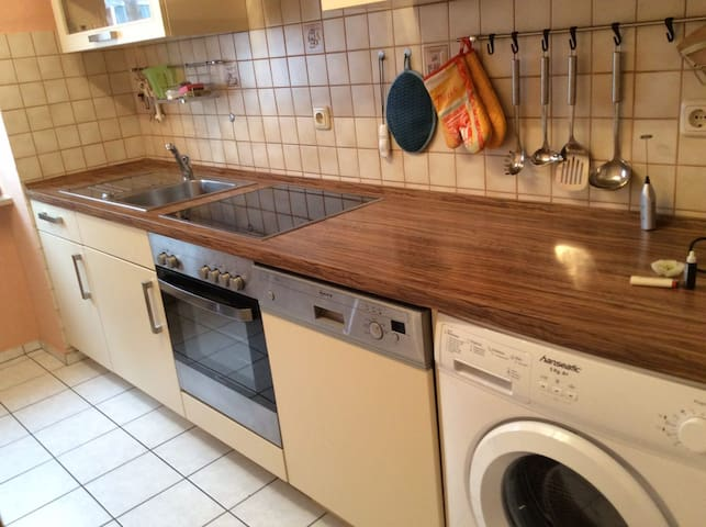Well-equipped three-room apartment - Würzburg - Apartamento