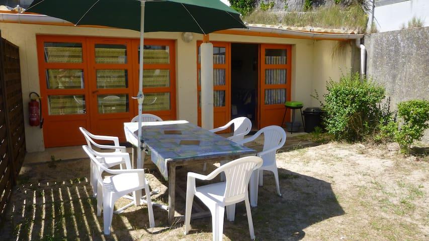 Pirou-plage, Au Bois Dormant,maison B  plain-pied - Pirou - Semesterboende