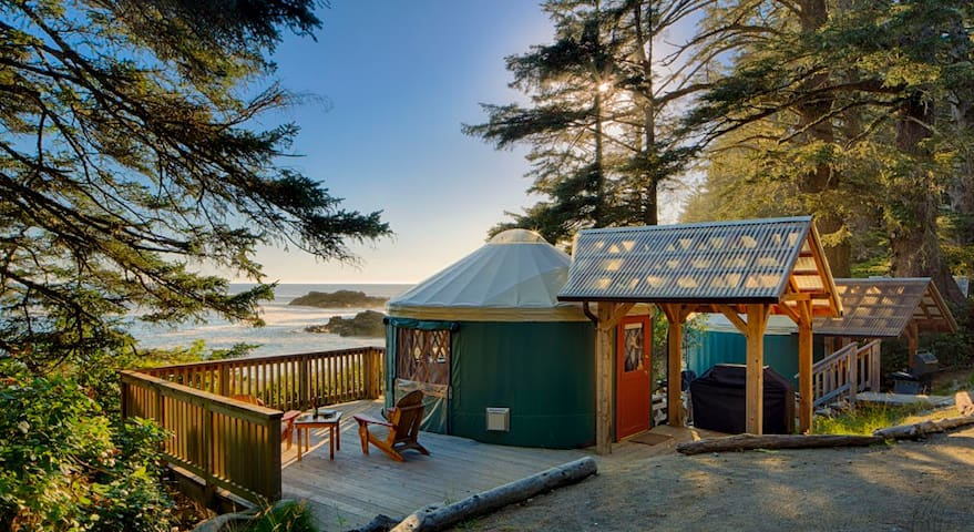 2. Small Ocean Front Yurt