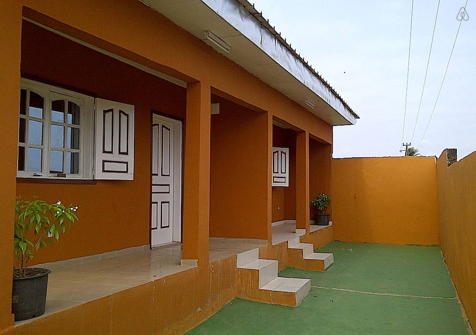 façade extérieur