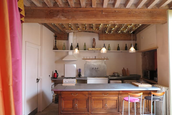 La cuisine, l'aménagement