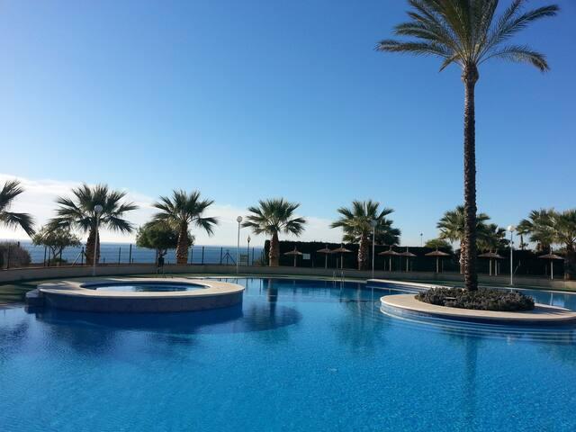 Bajo con Jardin, junto al mar, wifi - Orihuela - Lägenhet