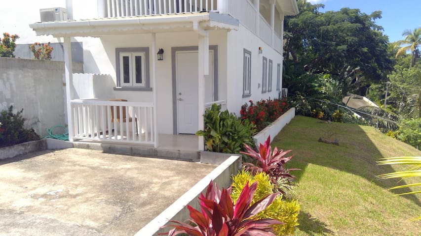 The apartment at Villa The Haven in Marigot Bay