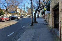 Goregous, quiet tree lined street... whod know youre do close to the hustle and bustle of north sydney!