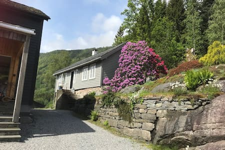 @EPLABLOMEN Historic house in fruitfarm Hardanger