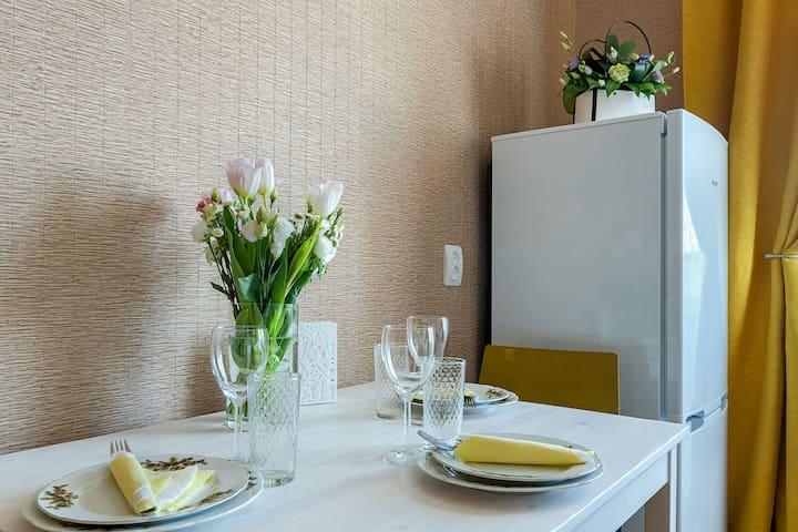Солнечные апартаменты в Шуршавеле  у Экспофорума