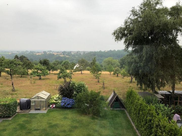 Gemütliches Apartment mit Blick ins Grüne