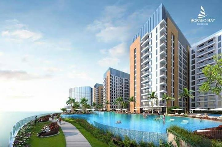 1 BR Cozy Apartment at Borneo Bay Balikpapan