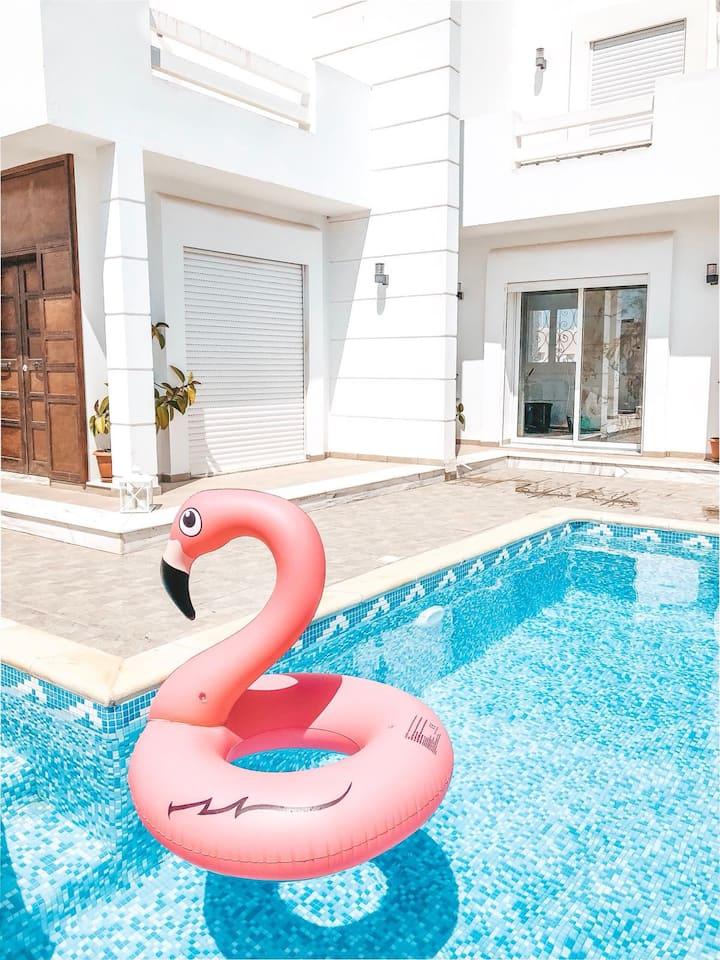 Djerba Madanin villa avec piscine