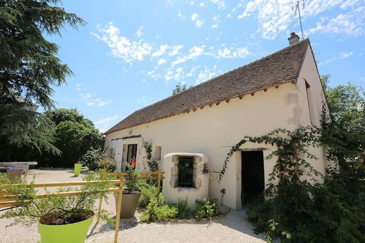 Loire sfeervolle villa Chambord 8P tuin 750m2