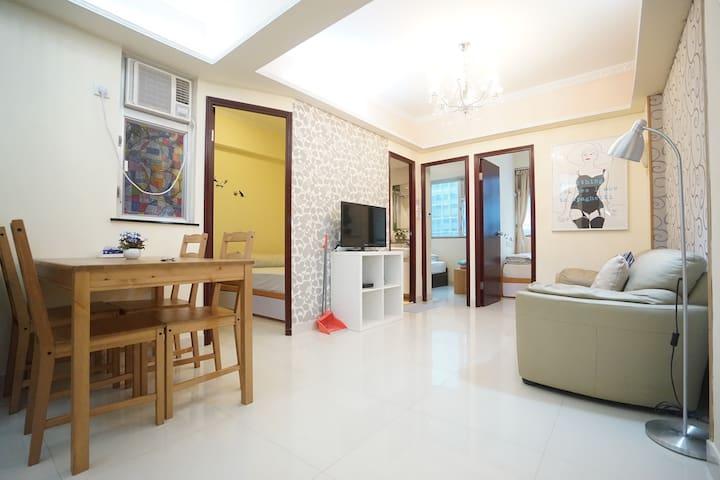3 BR! Wan Chai Business Travel flat! Walk to HKCEC - Hong Kong - Appartamento